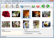 web site photo album software Lightbox